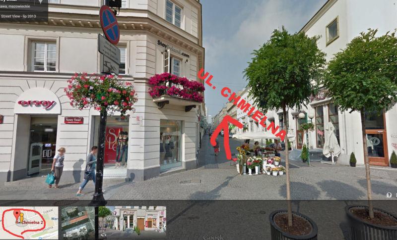 Lokalizacja UniCommerce w Warszawie