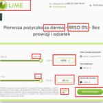 Lime Kredyt: szybki kredyt online; za darmo