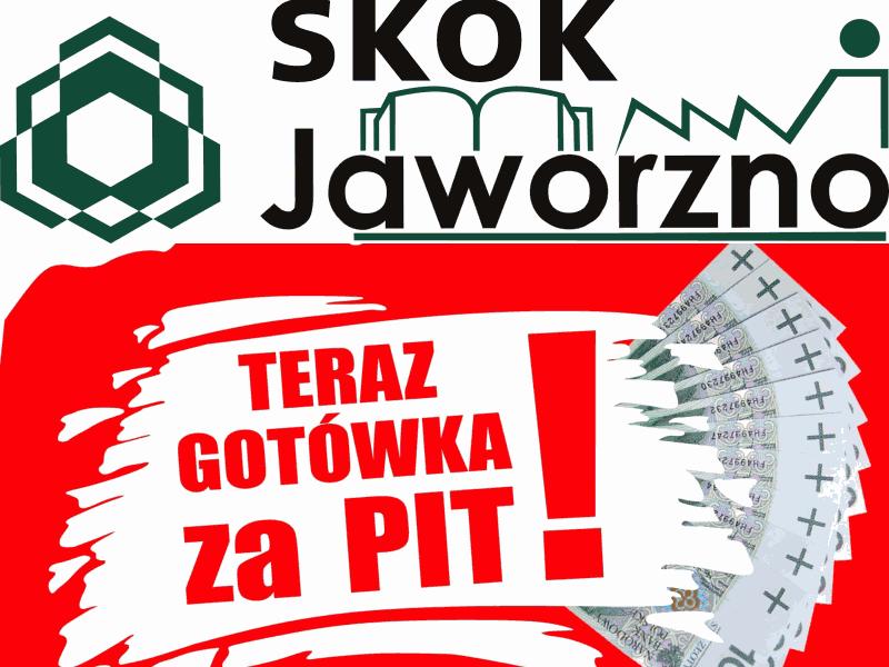 SKOK Jaworzno w zestawieniu Faraon24 kredytów na PIT