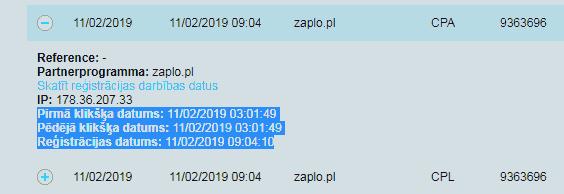 Logi pożyczki Zaplo (Łotwa)