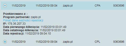 Logi pożyczki Zaplo (Polska)