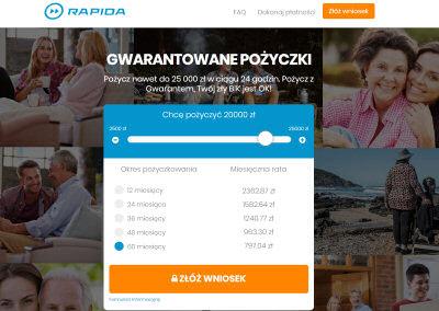 Rapida Money kredyt bez BIK