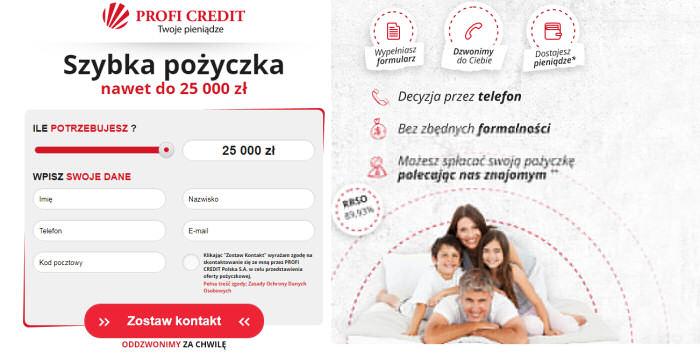 Profi Credit - opinia