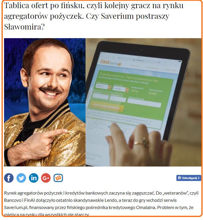 Opinia Macieja Samcika o Saverium - subiektywnieofinansach.pl