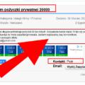 Szuka online pożyczki @ 20000 zł z niepoważną treścią ogłoszenia i prosi o poważne oferty