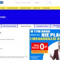 RTV EURO AGD raty zero płatne w 2021