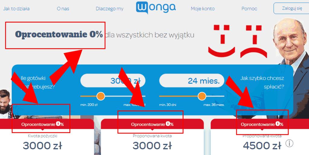 Wonga 0% - Zygmunt Freud i Robert Cialdini pomogą porównać pożyczki przez internet 0% Wonga ze stanem faktycznym (chwilówka i ratalna)