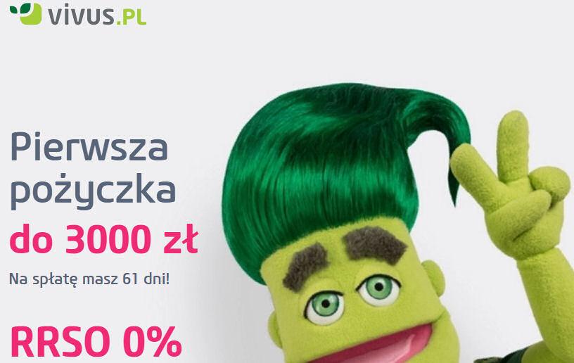 Darmowa pożyczka w Vivus.pl