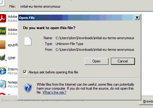 Dodatkowe potwierdzenie przy otwieraniu pliku PDF initial-eu-terms-anonymous