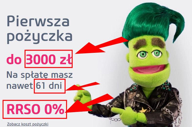 Gratisowa szybka pożyczka Vivus 3000 PLN
