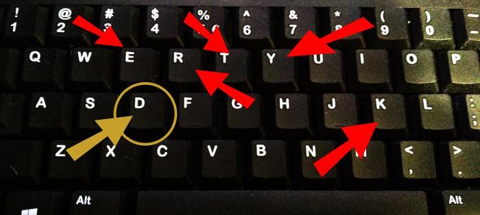 Analiza KREYT vs pisownia na klawiaturze QWERTY