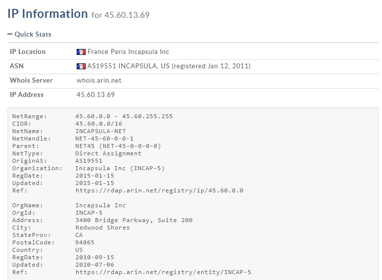 ZAPLO na francuskim serwerze