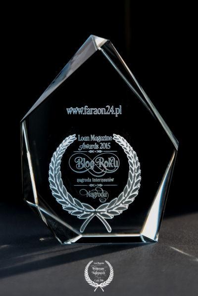 Nagroda Blog Roku 2015 dla FARAON24